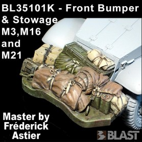 BL35101K - US HALF TRACK FRONT BUMPER AND STOWAGE M3/16/21
