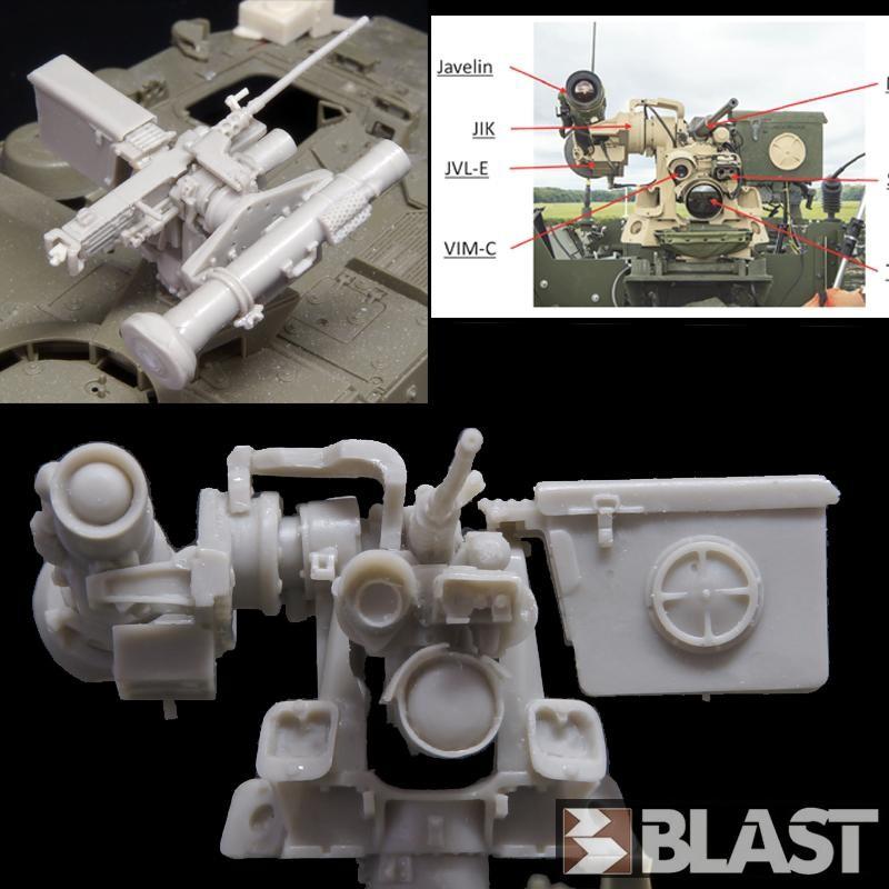 M1 ABRAMS CROWS RWS LP – LOW PROFILE