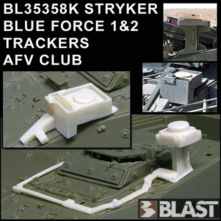 BL35358K - STRYKER BLUE FORCE 1 + 2 TRACKERS - AFV CLUB
