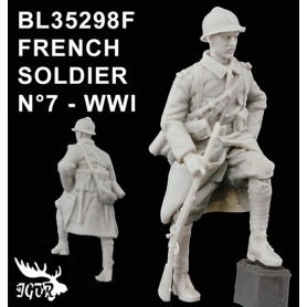 BL35298F - SOLDAT FRANCAIS N7 - WWI