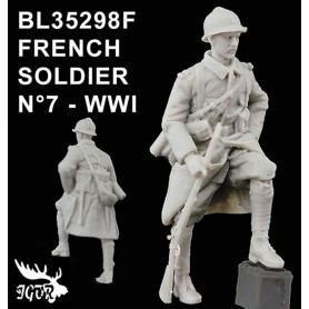 BL35298F - SOLDAT FRANCAIS N7 - WWI