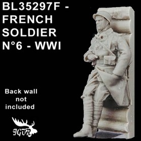 BL35297F - SOLDAT FRANCAIS N6 - WWI