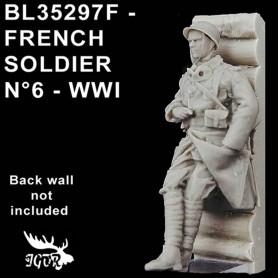BL35297F - SOLDAT FRANCAIS N6 - WWI