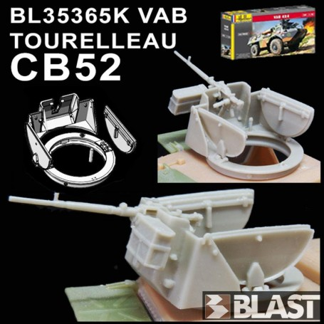 BL35365K - VAB TOURELLEAU CB52 - HELLER