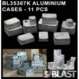 BL35367K ALUMINIUM CASES - 11 PCS