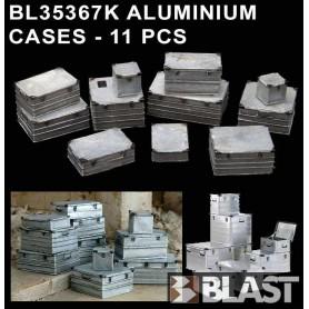 BL35367K - ALUMINIUM CASES - 11 PCS