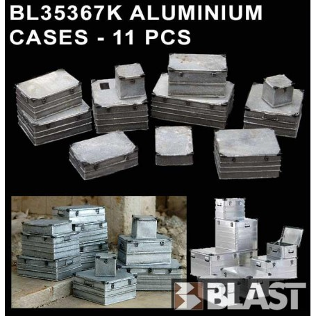 BL35367K - ALUMINIUM CASES - 11 PCS