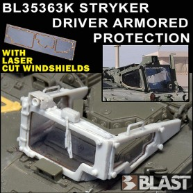 BL35363K - STRYKER DRIVER ARMORED PROTECTION