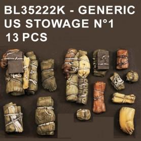 BL35222K - GENERIC US STOWAGE N1 - 13 PCS