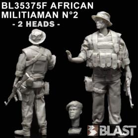 BL35375F - AFRICAN MILITIAMAN N°2