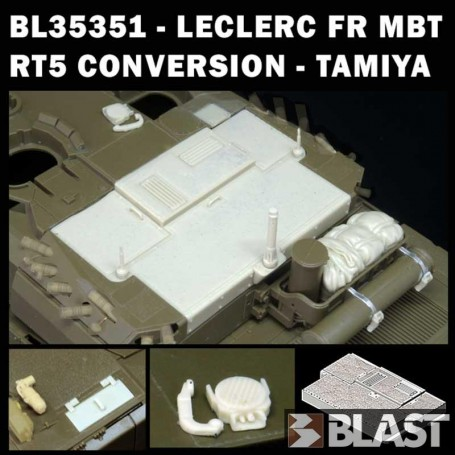 BL35351K - LECLERC CONVERSION RT5 KOSOVO - TAMIYA