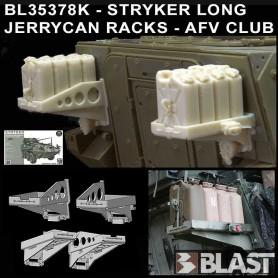 BL35378K - STRYKER LONG JERRYCAN RACKS - AFV CLUB