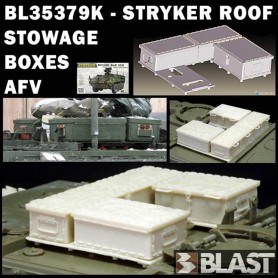 BL35379K - STRYKER ROOF STOWAGE BOXES - AFV CLUB