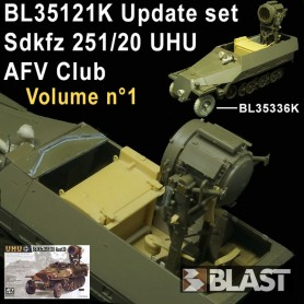 BL35121K - SDKFZ 251/20 UHU UPADTE SET VOL1 - AFV CLUB