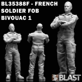 BL35388F - FRENCH SOLDIER FOB BIVOUAC 1