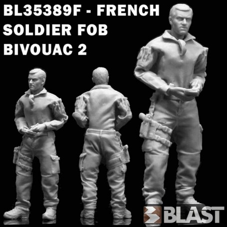 BL35389F - FRENCH SOLDIER FOB BIVOUAC 2
