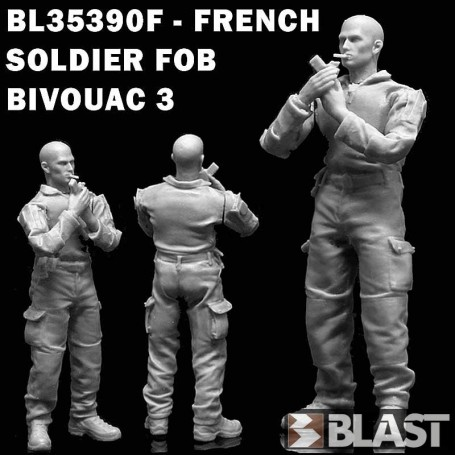 BL35390F - FRENCH SOLDIER FOB BIVOUAC 3
