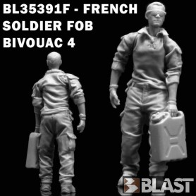 BL35391F - FRENCH SOLDIER FOB BIVOUAC 4