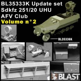 BL35333K - SDKFZ 251 UHU UPDATE SET VOL2 - AFV CLUB