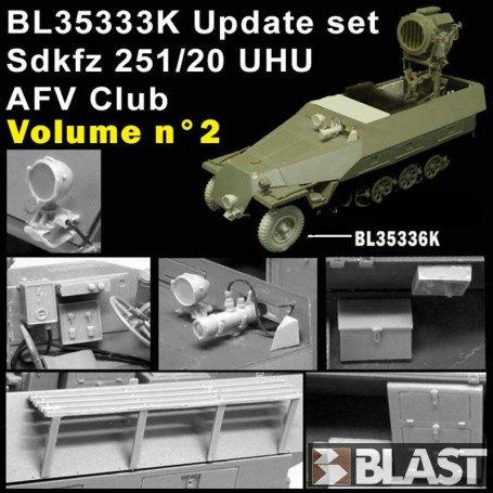 BL35333K - SDKFZ 251 UHU UPDATE SET VOL2 - AFV CLUB