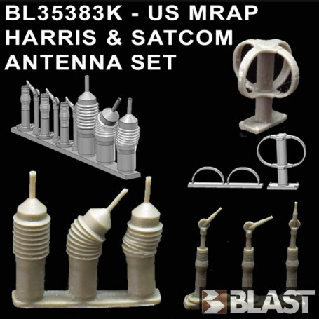 BL35383K - US MRAP HARRIS ANTENNA SET