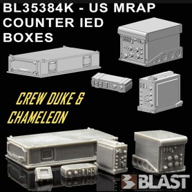 BL35384K - US MRAP COUNTER IED BOXES