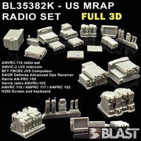 BL35382K - US MRAP RADIO SET MATV MAXXPRO