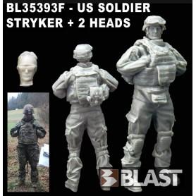 BL35393F - US SOLDIER - 2 HEADS