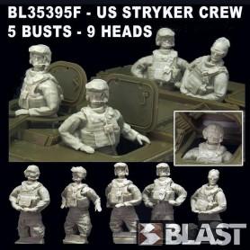 BL35395F - US STRYKER CREW SET - 5 BUSTS - 9 HEADS