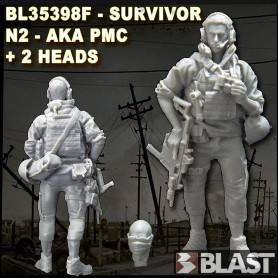 BL35398F - APO SURVIROR N2 or PMC - 2 HEADS