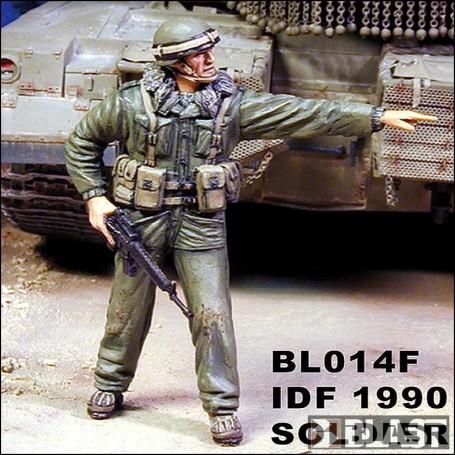 BL35014F - IDF SOLDIER 1990*