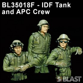 BL35018F - IDF TANK AND APC CREW 1990*