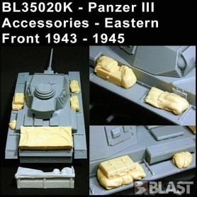 BL35020K - PANZER III ACCESSORIES / EASTERN FRONT