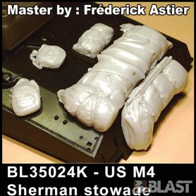 BL35024K - M4 SHERMAN STOWAGE*