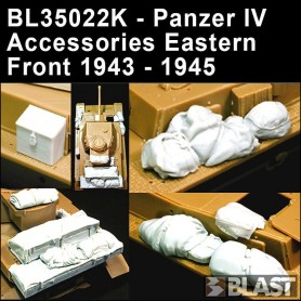 BL35022K - PANZER IV ACCESSORIES EASTERN FRONT 1943-45