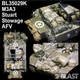 BL35029K - US M3A3 STOWAGE SET - AFV CLUB / RT 03/19