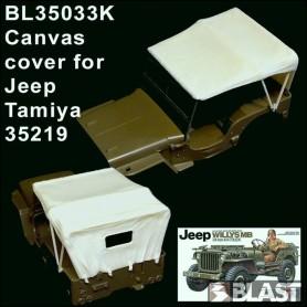 BL35033K - BACHE POUR JEEP - TAM