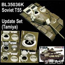 BL35036K - T55 UPDATE SET / FOR TAMIYA T55 - RTL 07/16