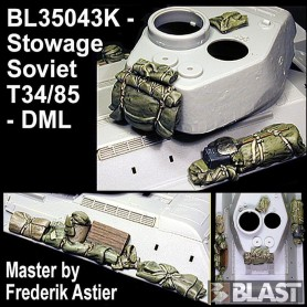 BL35043K - SOVIET T34/85 STOWAGE