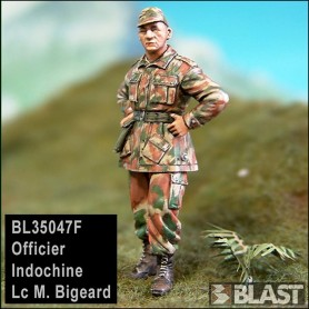 BL35047F - OFFICER INDOCHINA - LC M. BIGEARD