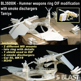 BL35050K - WEAPONS RING  OIF MODIFICATIONS + SMOKE DISCHARGERS
