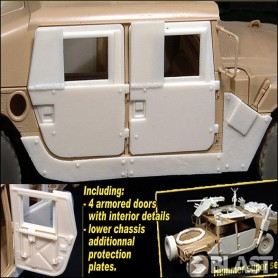 BL35052K - ARMORED DOORS FOR OIF HUMMER