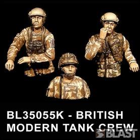 BL35055F - BRITISH MODERN TANK CREW*