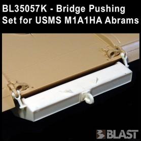 BL35057K - BRIDGE PUSHING SET FOR USMC ABRAMS