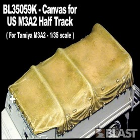 BL35059K - CANVAS FOR US M3 HALF TRACK