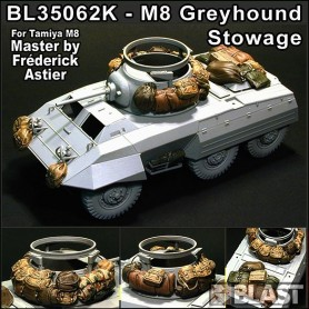 BL35062K - US M8 GREYHOUND STOWAGE