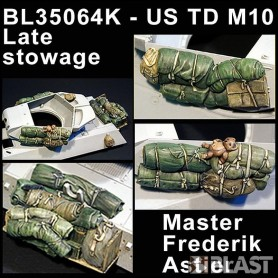 BL35064K - US TD M10 LATE STOWAGE - ACADEMY/AFV CLUB