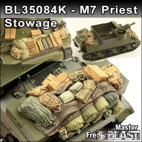 BL35084K - US M7 PRIEST STOWAGE