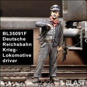 BL35091F - GERMAN DRIVER FOR KRIEGLOKOMOTIVE