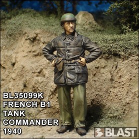 BL35099F - FRENCH B1 TANK COMMANDER 1940*